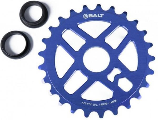 SaltBMX Kettenblatt Pro 25T, blau