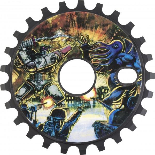 Odyssey Kettenblatt Discogram 25T, schwarz