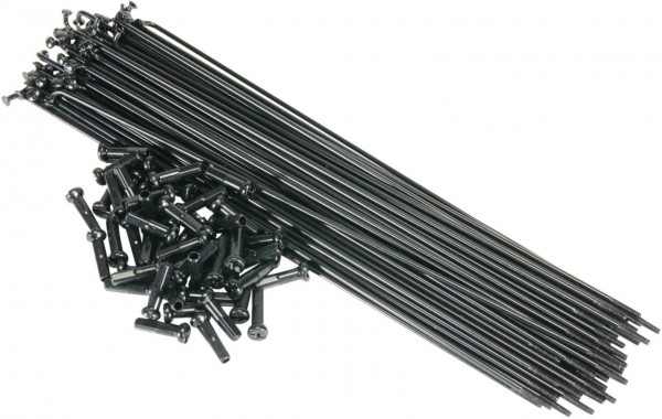 SaltBMX Speichen 192mm, schwarz