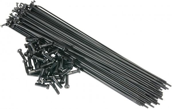 SaltBMX Speichen 186mm, schwarz