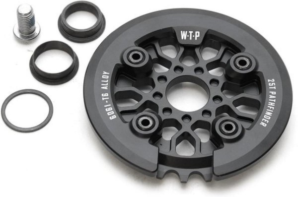 WeThePeople Kettenblatt + Guard Pathfinder 25T, schwarz