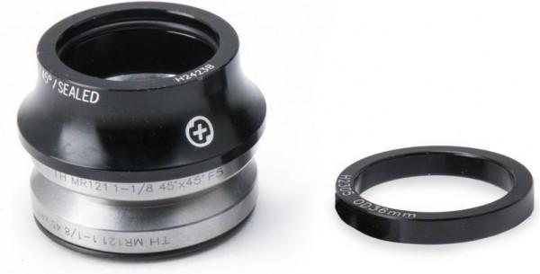 SaltPlus Steuersatz Internal Headset, schwarz