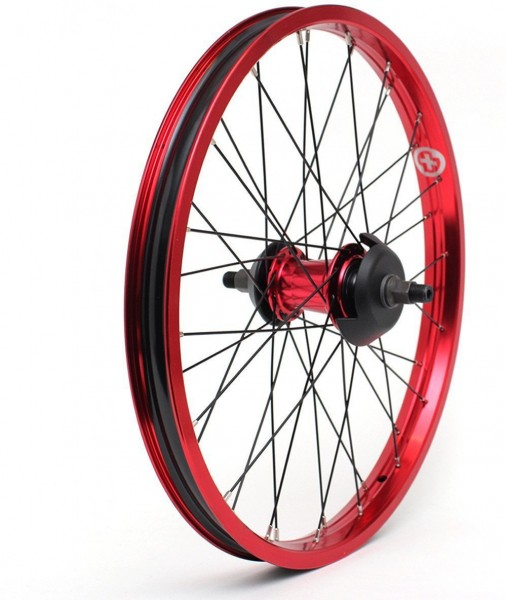 SaltBMX Laufrad hinten Everest, Freecoaster LHD, rot