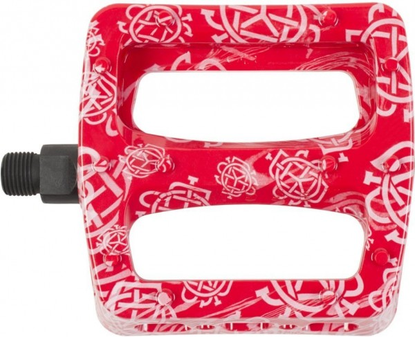 Odyssey Pedale Twisted Pro PC, rot